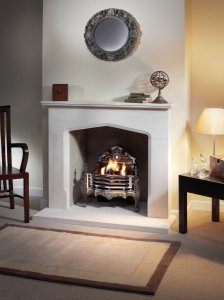 You can see many more beautiful stone fireplaces with full details and